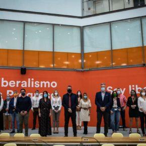 El Secretario de Organización de Cs La Rioja, Rafael García, participa en una reunión nacional para iniciar una nueva etapa