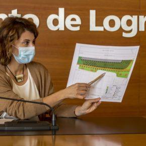 Cs Logroño exige al equipo de Gobierno local que complete la urbanización del parque Juan Gispert
