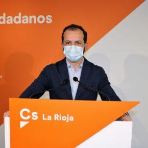 Cs La Rioja considera que los Presupuestos no cuidan a los que peor lo están pasando y reflejan el sometimiento del PSOE a Podemos