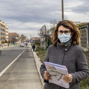 Cs Logroño exige al equipo de Gobierno que complete la urbanización de las aceras de la margen sur de Avenida de Burgos