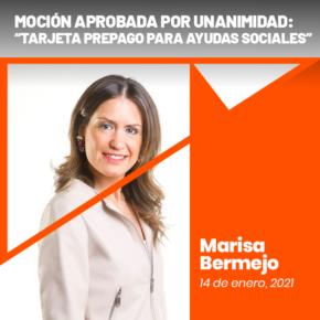 Aprobada la moción de Cs Logroño para implantar una tarjeta prepago para el cobro de las ayudas de emergencia