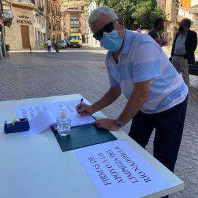 Ciudadanos demuestra su política útil con el impulso y finalmente ejecución de la limpieza del río Najerilla y su entorno