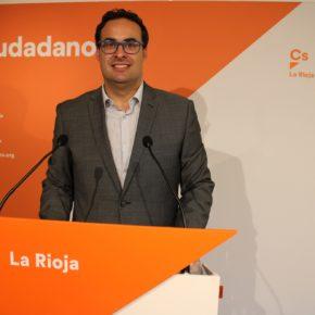 Ciudadanos lleva al Parlamento sus iniciativas para impulsar el bono social eléctrico y para que se oferte en La Rioja FP Dual especializada en agricultura, ganadería y medio natural